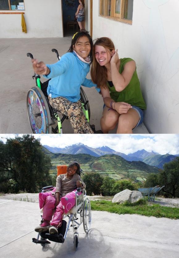 oude en nieuwe rolstoel